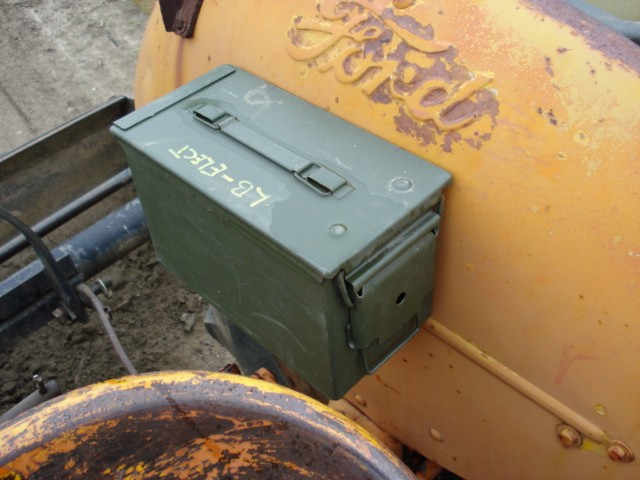 8n Ford Tractor Tool Box : N tool box ford forum yesterday s tractors